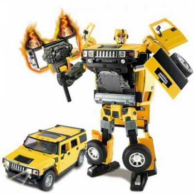 50120 Игрушка Робот-трансформер Машина Hummer H2 28 см Happy Well