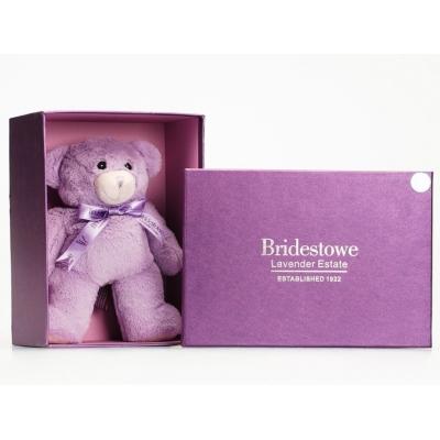 """99002AB Мягкая игрушка """"Ароматный лавандовый мишка"""" в подарочной упаковке 30 см Bridestowe"""