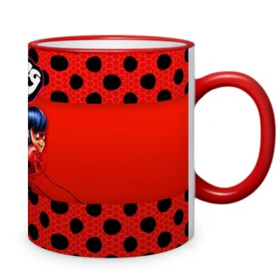 39720 Кружка с 3D принтом Леди Баг и Супер Кот Miraculous Ladybug
