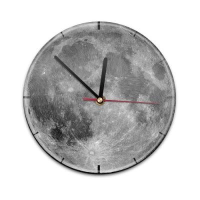 X99013V Настенные часы с текстурой Луна