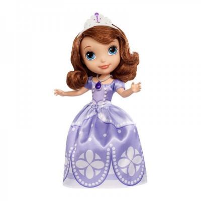 *CMT54 Кукла София Прекрасная в фиолетовом платье 23 см Disney Junior Mattel Hasbro