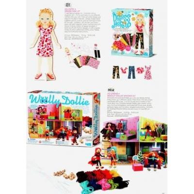 994543 Набор для творчества Домик с куклой 4M