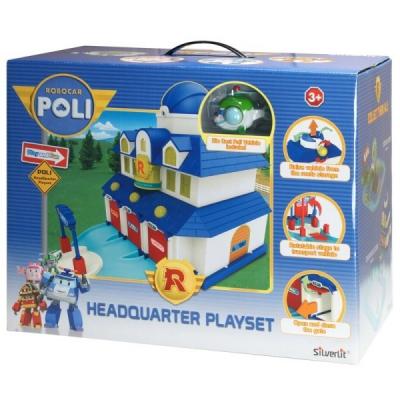 """*990320 Игровой набор Штаб-квартира """"Робокар Поли"""""""