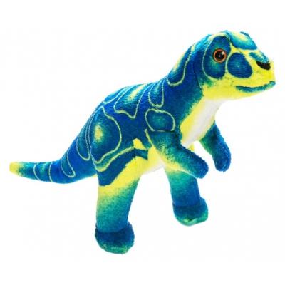 0068 Мягкая игрушка динозавр Тиранозар синий 25 см Абвгдейка