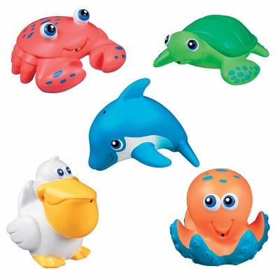 99541 Набор игрушек для ванной Брызгалки Морские животные (5 шт) Munchkin