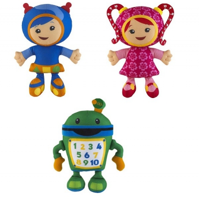 *99058 Набор мягких игрушек Герои команды Умизуми (Umizoomi)