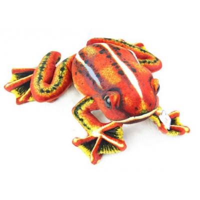 *SW-0041 Мягкая игрушка Лягушка древесная Красная 30х30 см