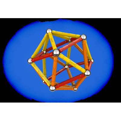 262 Магнитный конструктор Color 64 деталей Geomag