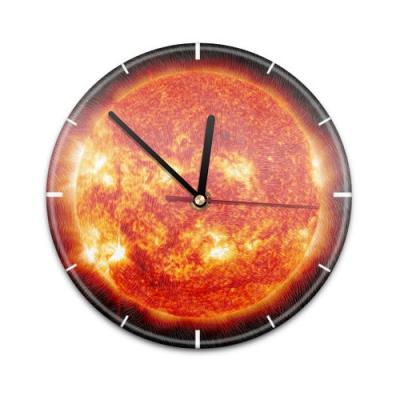 X99012V Настенные часы с текстурой Солнце