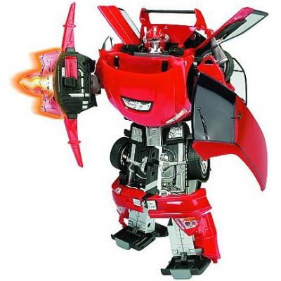 50100 Игрушка Робот-трансформер Машина Mitsubishi Lancer Evolution 28 см Happy Well