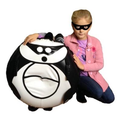 99935 Санки-ватрушка надувные Панда 80 см с камерой Тюбинг Globus