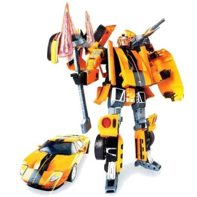 51020 Игрушка Робот-трансформер Машина FORD - GT 40 см Happy Well