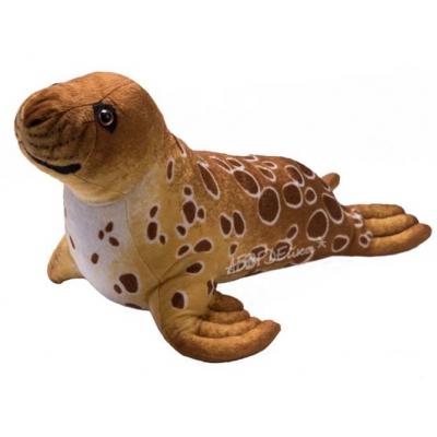 *SW-0023 Мягкая игрушка Тюлень большой коричневый 106 см
