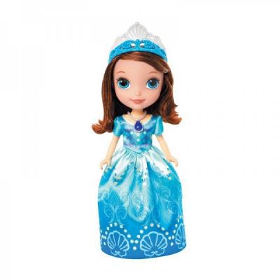 *CMT54 Кукла София Прекрасная в голубом платье 23 см Disney Junior Mattel Hasbro