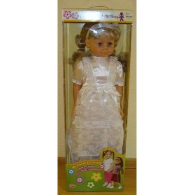 "35001/2 Шагающая кукла ""Невеста"" 90 см Lotus Onda"