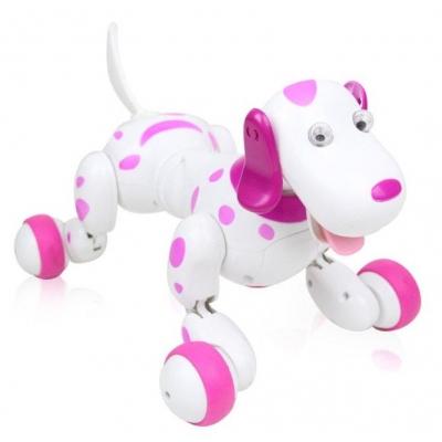 98902 Собака на радиоуправлении Далматинец Розовый Smart-Dog Happy Cow