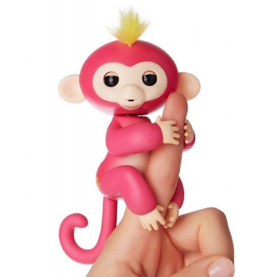 990027 Интерактивная обезьянка Fingerlings Оригинал WowWee