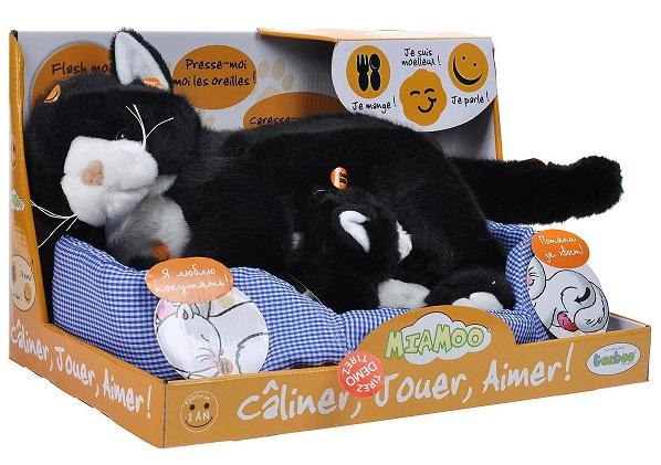 Интерактивная игрушка мягкая кошка