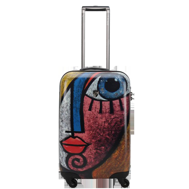 b4a41fb1cf38 Дорожный чемодан на колесиках Heys Ceron Blue Gold 22''. Купить ...