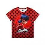 Купить 39710 Детская футболка 3D «Леди баг и супер Кот»