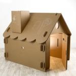 """Купить 998443 Дом большой из картона """"Классический"""" Papper House Basic"""