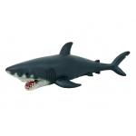Купить *RW011  Акула большая 55 см, из каучука с мягкой набивкой