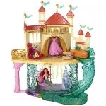 """Купить 99311 Подарочный игровой набор """"Русалочка"""": замок, кукла Ариэль Disney и аксессуары Princess Mattel"""