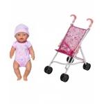 Купить 991334 Набор игровой Интерактивная кукла с коляской Беби Бон Baby Born