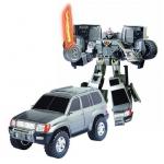 Купить 50060 Игрушка Робот-трансформер Машина Toyota Land Cruiser 28 см Happy Well