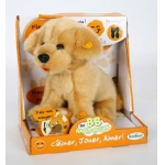 """Купить 991220R-BGD Мягкая интерактивная игрушка """"Лабрадор бежевый"""" Тeeboo"""