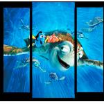 """Купить 99163 Модульная картина для детской """"В поисках Немо"""""""