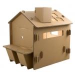 "998446 Дом малый из картона ""Кафе"" Papper House Cafe"