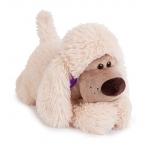 Купить 99314 Мягкая игрушка собака Пудель Персик 30 см Budi Basa