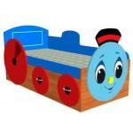 9901RIK Кровать детская Добрый Паравозик