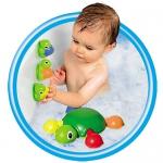 """Купить 99757 Игрушка для ванной """"Веселые черепашки"""" Tomy"""