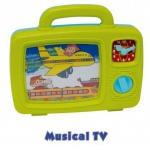 25502 Музыкальный телевизор Red Box