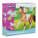 Купить 99057 Набор для творчества Раскрась лошадь Пинто по шаблонам Breyer