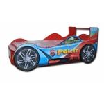 """Купить 990015 Кровать в виде машины """"Полицейский"""""""