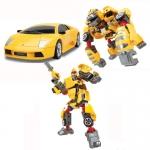Купить 55010 Игрушка Робот-трансформер 3 в 1 Lamborghini Murcielago Happy Well
