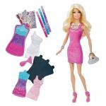 """Купить 9907892 Креативный набор Барби """"Создай свое платье"""" Barbie Mattel"""
