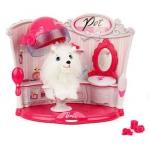 """Купить 99471 Игровой набор """"Салон для питомца"""" с аксессуарами Barbie"""