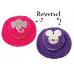 Купить Панама детская двуxсторонняя Слон/Мышка FlapJacks