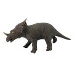 Купить *РЕ0053  Динозавр Трицератопс коричневый 53 см, из каучука с мягкой набивкой