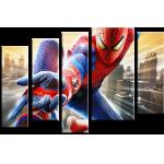 """Купить 99162 Модульная картина для детской """"Человек Паук Spider Man"""""""