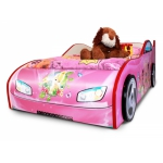 """Купить 990016 Кровать в виде машины """"Феи Tinker Bell"""""""