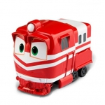 Купить *ZY-633A Игрушка машинка инерц Альф Alf Робо Поезд красный Robot Trains