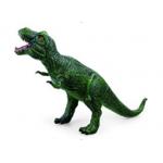 Купить *PE0011 Тиранозавр зеленый 48 см, из каучука с мягкой набивкой