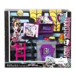 BDD83 Студия с мебелью Дракулауры Художественный класс Монстер Хай Mattel