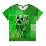 Купить 99871 Футболка детская Крипер Майнкрафт Creeper Minecraft