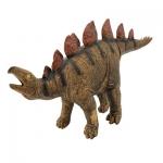 Купить *РЕ0052  Динозавр Стегозавр коричневый 53 см, из каучука с мягкой набивкой